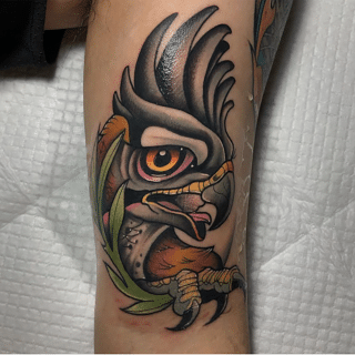 Neotraditional Rooster