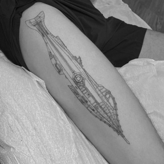 Submarine Drawing