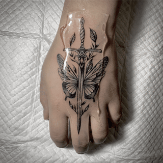 Sword and Butterfly